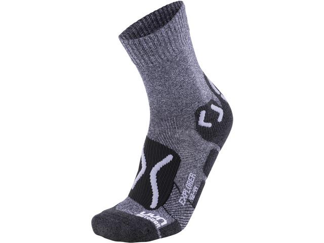 UYN Trekking Outdoor Expl**** Socken Herren grey melange/pearl grey